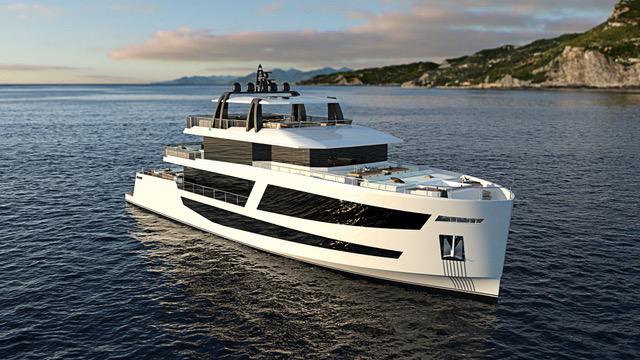 38 Meter Custom Yacht by Sundeck