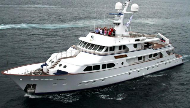 Facilitating the 138′ Maverick Yacht Donation